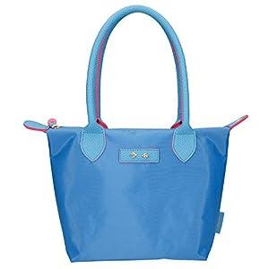 Depesche 10085Bolso Trend Love, Azul Claro, Aprox. 31x 21cm