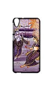 Krishna Radha Swing Case For HTC 820