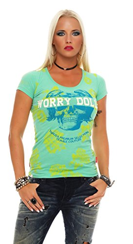 Yakuza Premium Damen T-Shirt GS-2144 Grün