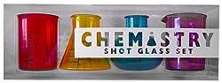 Kheper Games Chemistry Shot Glass Set