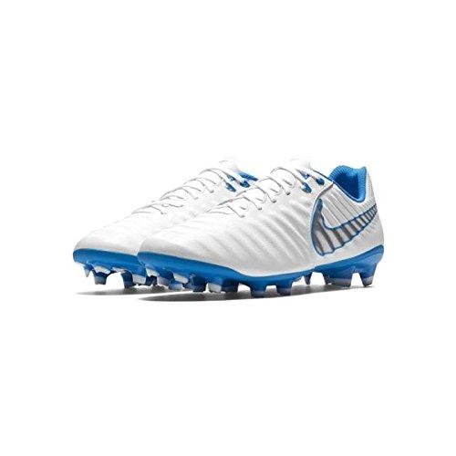 sports shoes 0ffc7 ff7f8 Nike Tiempo Legend 7 Academy AG Pro, Zapatillas de Fútbol para Hombre,  Blanco (