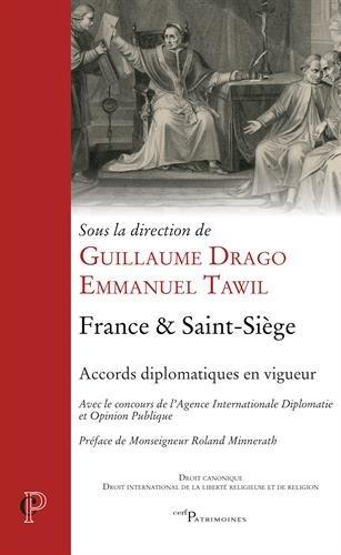 France & Saint-Siège : Accords diplomatiques en vigueur