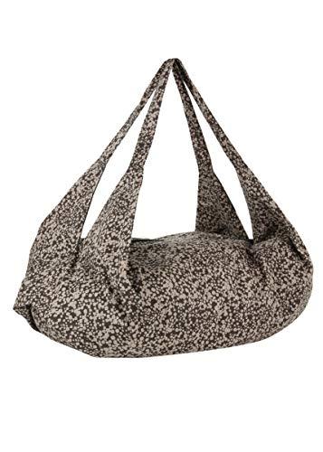 likemary - Bolso mochila de Lona para mujer One Size, color Marrón, talla One Size