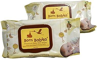 Born Babies Premium Baby Wet Wipes Combo