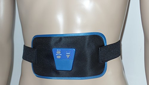 Light electrical belt with 2 large electrodes - Designed to be use to most body parts