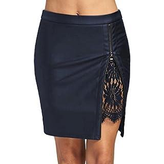 Womens Pleated Skirt | Summer Skirt | Short Mini Skirt | Ladies Split Skirt | Women's Dress Shirt | Skirts for Women | Women's Clothing | Womens Tops | Womens Slim Dress | Ladies Ruffle Skirt (L, A)