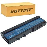 Battpit Batteria del Computer Portatile Laptop per Acer TravelMate 2423WXCi (6600mah / 73wh)