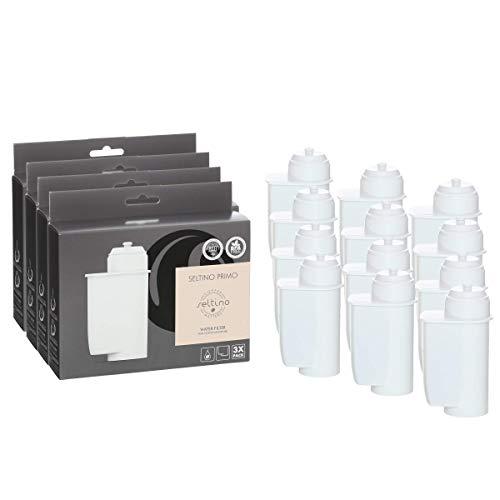 Seltino 12x Filterpatrone Primo - Ersatzfilter für Brita Intenza* 467873 TZ70003, für Espressovollautomaten Bosch, Neff, Siemens, Gaggenau. (4X 3er Pack!)