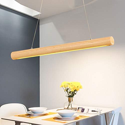 NHX Modern Kreative weißes Wachs Holz Pendelleuchte Hängeleuchte LED Restaurant Keller Untergeschoss Acryl Deckenleuchte Lampenschirm Kronleuchter - Wachs Lampenschirm