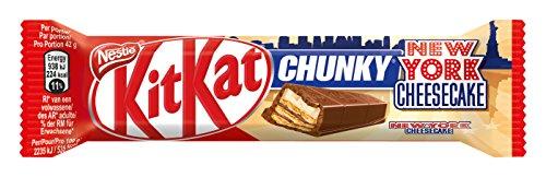 Chunky Schokoriegel (Nestlé Kitkat Chunky New York, Cheesecake Schokoriegel, 1er pack (1 x 42g))