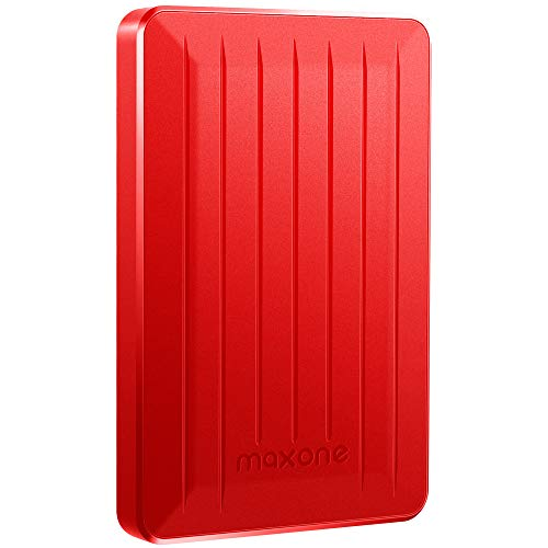 Disque dur externe portable 2,5 '250 Go USB 3.0 pour ordinateur portable/ Wii U / Macbook / Chromebook (250 Go, rouge)