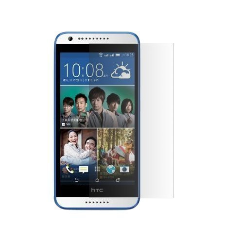 Tempered glass Screen Protector (Clear) for HTC Desire 620G  available at amazon for Rs.115
