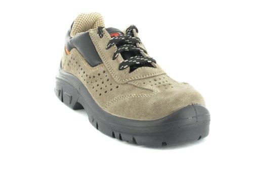 Chaussures De Sécurité Mts Zefir S1p Flex 40116, Scarpe Antinfortunistica, Unisexe Marrone