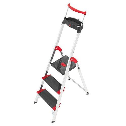 """Preisvergleich Produktbild Hailo XXR 225 """"ChampionsLine"""",  3-Stufenleiter mit Extra-tiefen Stufen"""
