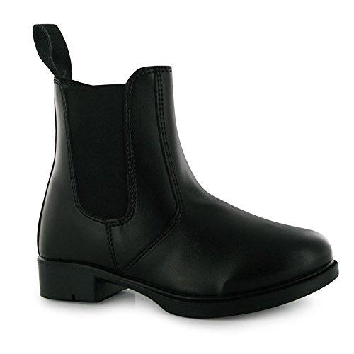 Requisite Aspen Kinder Jungen Reitschuhe Reitstiefelette Reit Boots Stiefelette Schwarz 2 (34)