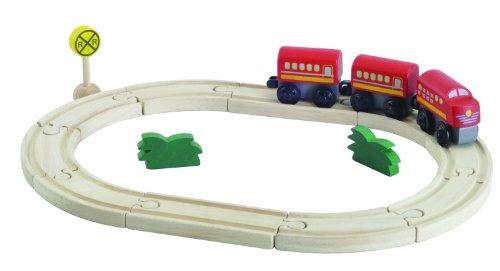 PlanToys - PT6257 - Figurine - Circuit Train Ovale