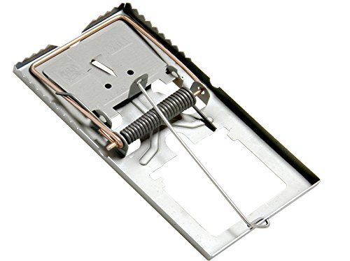 5 Stück Rattenfalle Stahl verzinkt thumbnail