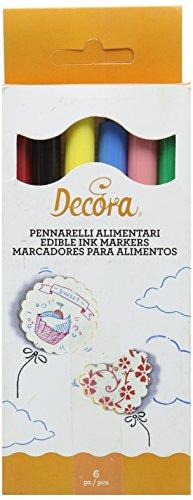 Decora Pennarelli, Assortiti - Confezione da 6