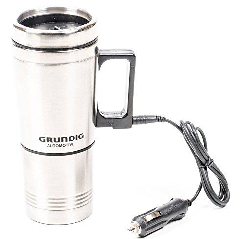 Preisvergleich Produktbild Grundig Elektrischer Kaffeebecher Edelstahl,  0, 5 L,  12V