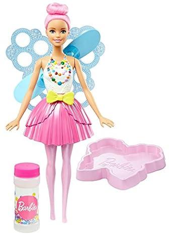 Mattel Barbie DVM95 - Dreamtopia Seifenblasen Fee Puppe,