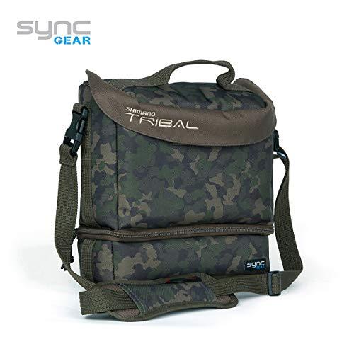 SHIMANO Tribal Sync Gear, Kameratasche, Anglerzubehör Tasche, 27x25x10cm, SHTSC06