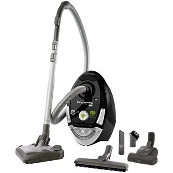 rowenta silence force compact eco intelligence cylinder vacuum 3 5l 1800w black vacuums 1800. Black Bedroom Furniture Sets. Home Design Ideas