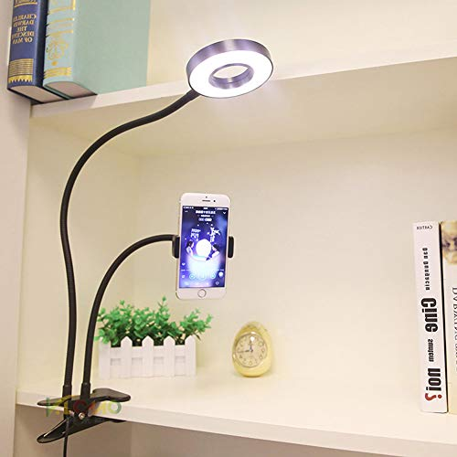 PElight Led Clip Tischleuchte, Tablet-Ständer und Klappbares
