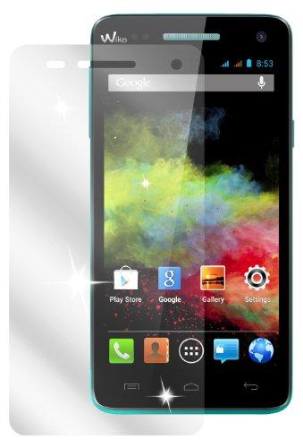 dipos I 2X Schutzfolie klar passend für Wiko Rainbow Folie Bildschirmschutzfolie