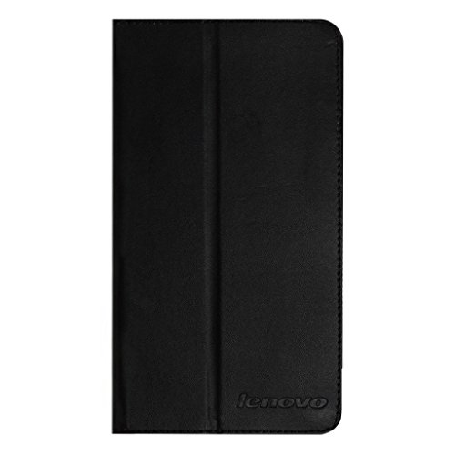 Colorcase Tablet Flip Cover Case for Lenovo Phab Plus Tablet - Black
