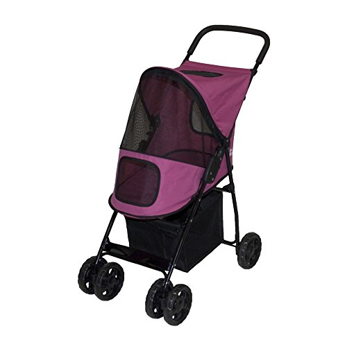 pet-gear-hundebuggy-sport-lite-rosa