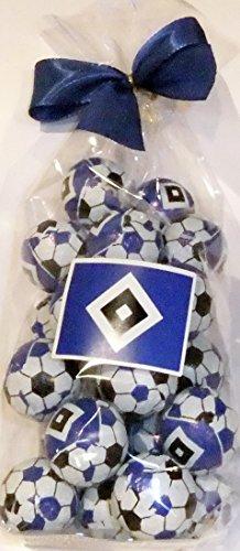 HSV - Schokoladenkugeln Fußball Weihnachten - 125g (Schokolade Baby Schuhe)