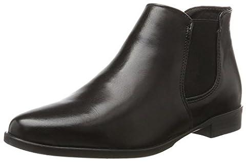 Tamaris Damen 25097 Chelsea Boots, Schwarz (Black), 39 EU