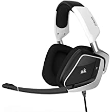 CORSAIR Void PRO RGB USB Gaming Headset - Dolby 7.1 Surround Sound Headphones for PC - Discord Certified - 50mm Drivers - White (Certified Refurbished)