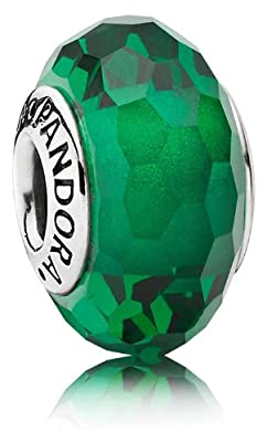 Pandora Glass Silver Charms 791619