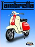 Best 125cc Scooters - FRENCH VINTAGE METAL SIGN 30x20cm 125CC LAMBRETTA SCOOTER Review