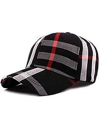 BoBoLily Gorra para Mujer Moda Clásica Rejilla Gorra Visera De Béisbol  Exterior Especial Estilo Ajustable Sombrero ea90a75d15a