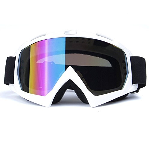 Z-P Unisex Adult Outdoor Sports Style Motorcycle Wind Dustproof Ski Equipment Snowboard Cycling Hiking Anti-reflection Shield Goggles UV400