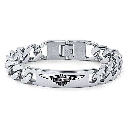 Herren Armband Edelstahl Harley Davidson (Herren Harley Davidson Armband)