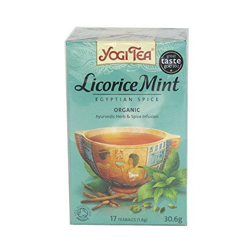 Egyptian Spice (Yogi Tea–Licorice Mint Egyptian Spice–30.6g (Case Of 6))