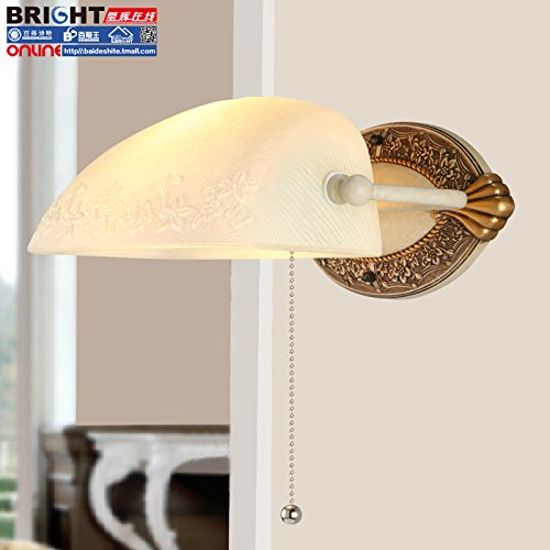 DYBLING Europeo creativo per bambini semplice lampada moderno retro Led