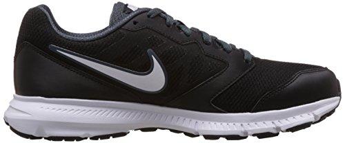 Nike Downshifter 6 Msl - Sneaker pour homme Noir et blanc