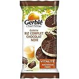 Gerblé Galettes riz complet chocolat 6 galettes 100g - ( Prix Unitaire ) - Envoi Rapide Et Soignée