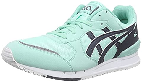ASICS Gel-classic, Sneakers Basses adulte mixte - Vert (light Mint/indian Ink 7650), 44.5 EU
