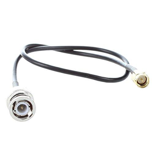 ACAMPTAR 12,8 Zoll RF Pigtail Kabel SMA maennlich zu BNC maennlich Adapter Steckverbinder -