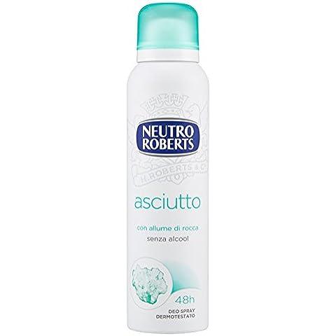 Neutro Roberts Natural Seco 150ml Desodorante Aerosol