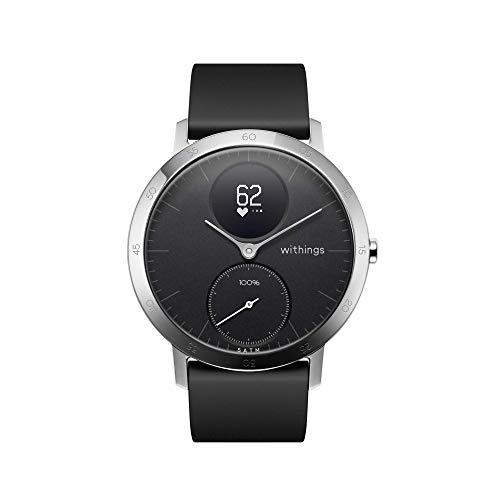 Withings Steel HR Smartwatch Ibrido Orologio sportivo con misurazione della frequenza cardiaca, dell'attività e del sonno con notifiche