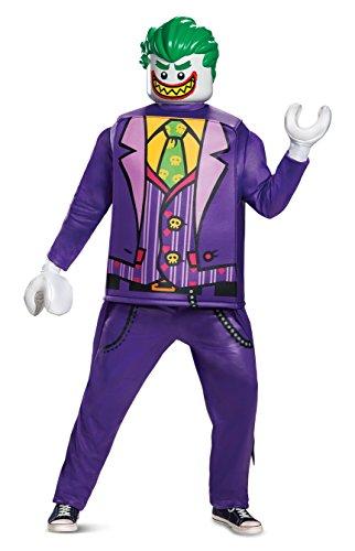 Generique - Deluxe Joker Kostüm für Erwachsene Lego Einheitsgröße