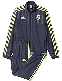 bb3fef0f3 Adidas Real Madrid Pr Suit Ch CF 2015-2016 Tuta da Uomo
