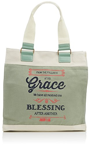 Canvas Tote - Grace Jn 1: 16 (Fashion Handtasche Canvas)