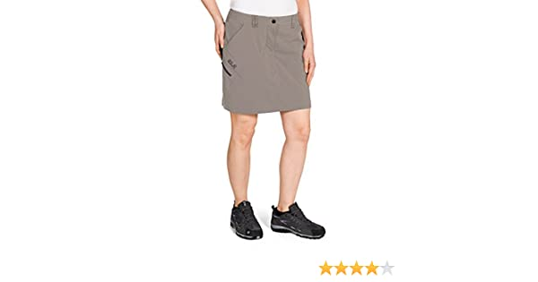 jack wolfskin damen rock norrish flex skort